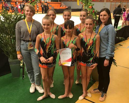 Schmidener Gymnastinnen triumphieren