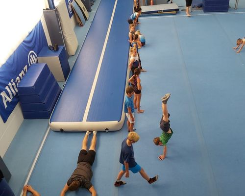 Trainingswochenende in Istein